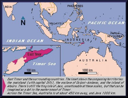the history of east timor A license to kill (1999) - in the lead-up to the timorese vote for independence, pro-integration militias menace and murder civilians indonesia denies responsibility.